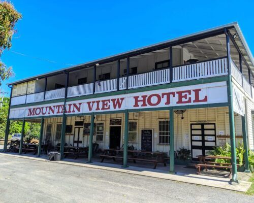 Mountain View Hotel near Gordonvale in Tropical North Queensland